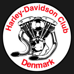 H-D Club Denmark m. logo Design
